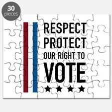 Respect and Protect our right Puzzle