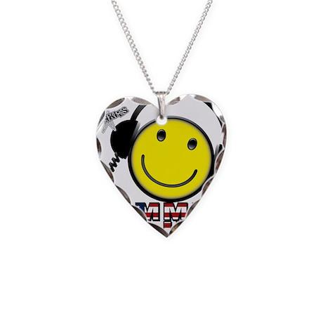 Guffable Designs Amatuer Radi Necklace Heart Charm