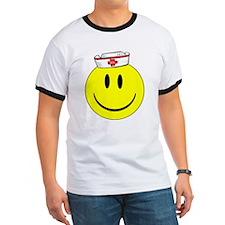 Registered Nurse Happy Face T