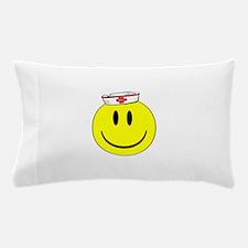 Registered Nurse Happy Face Pillow Case