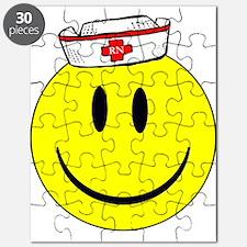 Registered Nurse Happy Face Puzzle