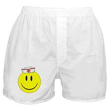 Registered Nurse Happy Face Boxer Shorts