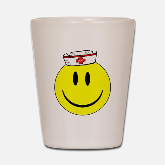 RN Happy Face ©ABEZ 2006 Shot Glass