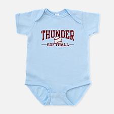Thunder Softball Infant Bodysuit