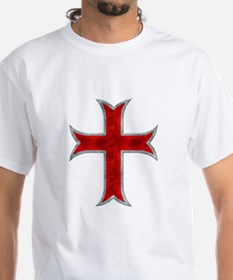 Templar Cross Metalic dark T-Shirt