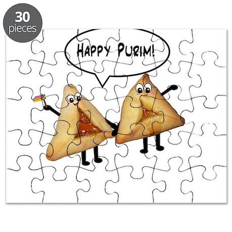 Happy Purim Hamantaschen Puzzle