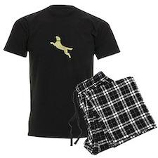 Yellow Dock Jumping Dog Pajamas