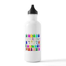 Awesome Ukuleles Rock Water Bottle