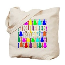 Awesome Ukuleles Rock Tote Bag