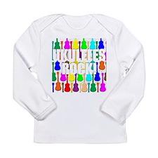 Awesome Ukuleles Rock Long Sleeve Infant T-Shirt