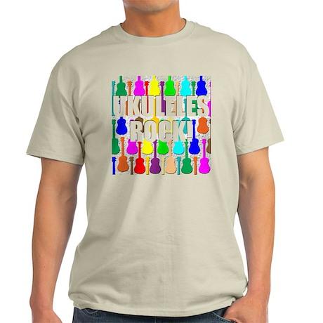 Awesome Ukuleles Rock Light T-Shirt