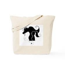 Cute Horse girl Tote Bag
