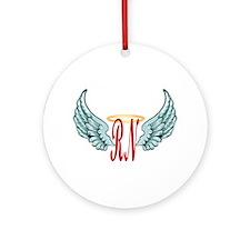 Nurse Angel Ornament (Round)