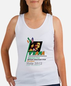 O'Bama Af-Am-Ire Women's Tank Top