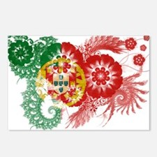 Portugal Flag Postcards (Package of 8)