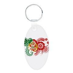Portugal Flag Keychains