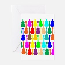 Rainbow Ukulele Greeting Cards (Pk of 20)