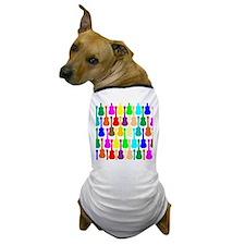 Rainbow Ukulele Dog T-Shirt