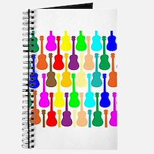 Rainbow Ukulele Journal