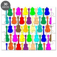 Rainbow Ukulele Puzzle