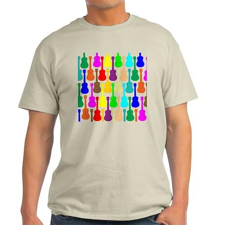 Rainbow Ukulele Light T-Shirt
