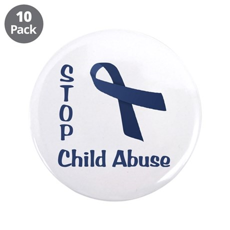 """Stop Child Abuse 3.5"""" Button (10 pack)"""