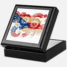 Puerto Rico Flag Keepsake Box