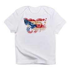 Puerto Rico Flag Infant T-Shirt