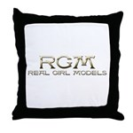 RGM-Real Girl Models Custom Throw Pillow