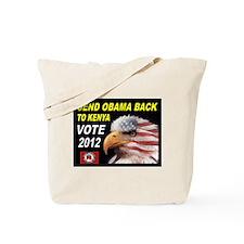 BORN IN KENYA Tote Bag