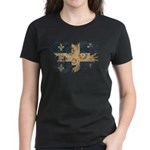 Quebec Flag Women's Dark T-Shirt