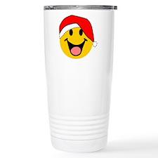 Santa Smiley Travel Mug