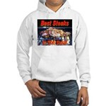 Best Steaks In The State Hooded Sweatshirt