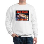 Best Steaks In The State Sweatshirt