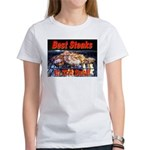 Best Steaks In The State Women's T-Shirt