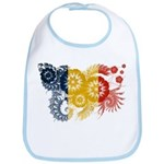 Romania Flag Bib