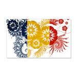 Romania Flag 22x14 Wall Peel