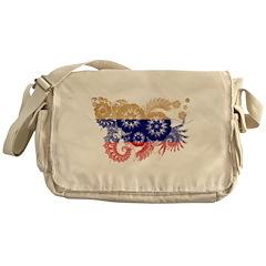 Russia Flag Messenger Bag
