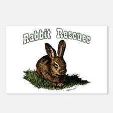 Rabbit Rescuer Postcards (Package of 8)