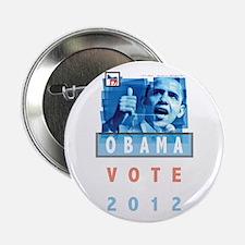 "Obama Banner 2.25"" Button"