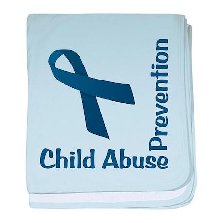 Child Abuse Prevention baby blanket