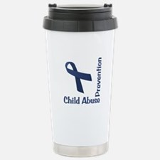 Child Abuse Prevention Stainless Steel Travel Mug