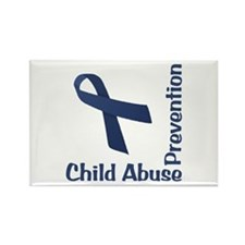 Child Abuse Prevention Rectangle Magnet