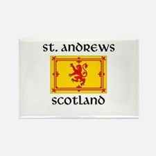 Funny Glasgow scotland Rectangle Magnet