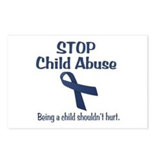 Stop Child Abuse It Hurts Postcards (Package of 8)
