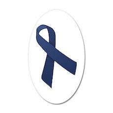 Blue Ribbon 22x14 Oval Wall Peel