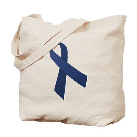 Blue Ribbon Tote Bag