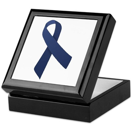 Blue Ribbon Keepsake Box