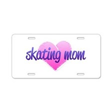 Skating Mom 2 Aluminum License Plate