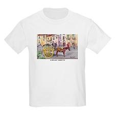 Sicilian cart Kids T-Shirt